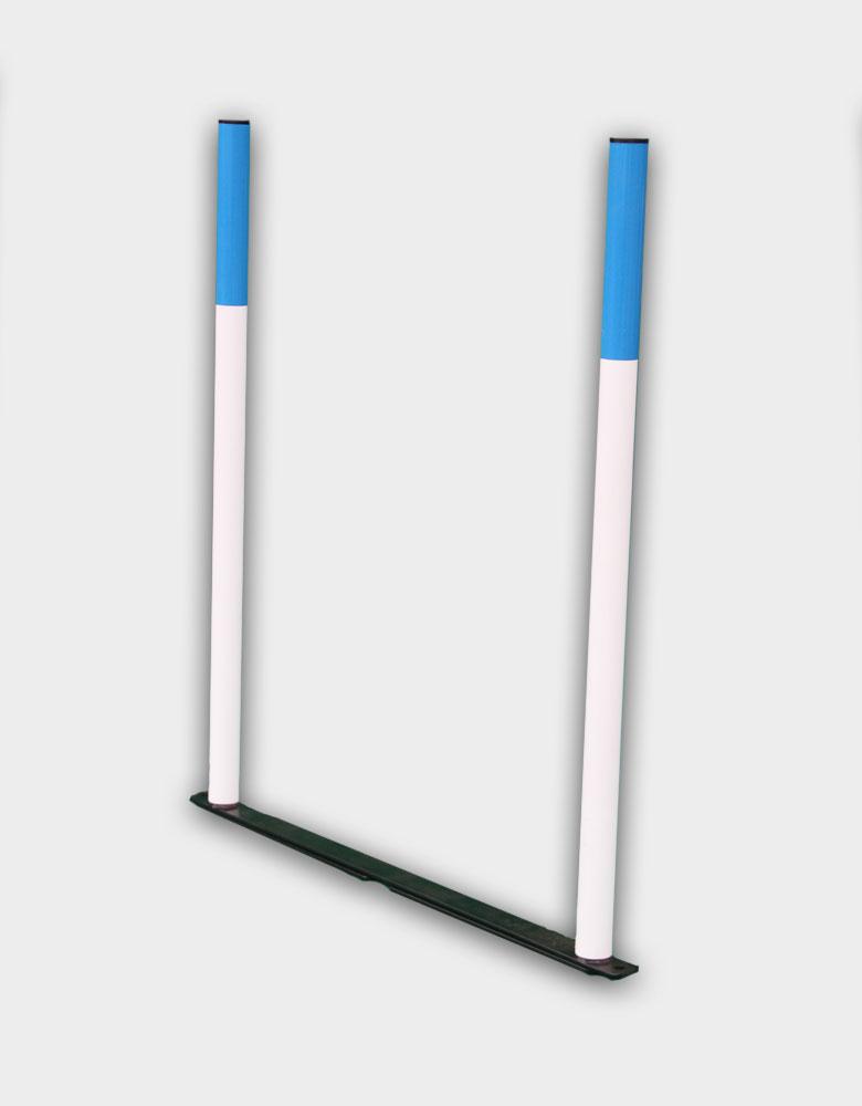 single weave pole section